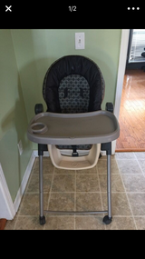 High chair in Fort Jackson, South Carolina