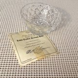 Lenox Crystal Diamond Bowl in Clarksville, Tennessee