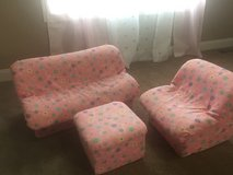 Toddler couch chair and ottoman set in Naperville, Illinois