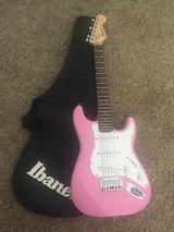 Fender Squier Mini Electric Guitar (Pink) in Oceanside, California
