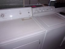 Hotpoint Washer and Kenmore Dryer in Fort Riley, Kansas