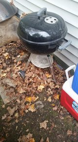 Weber charcoal grill in Fort Drum, New York