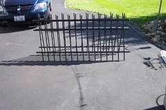 TWO SECTIONS OF METAL RAILINGS in Naperville, Illinois