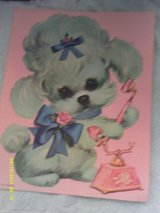 Puppy Prints by Colonial Studios 1970 in Camp Lejeune, North Carolina