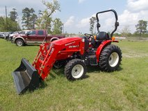 2017 3015H Branson 4wd Tractor w/ 16ft trailer and 5ft box blade in Leesville, Louisiana