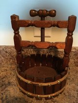 Vintage Wooden Wishing Well Nutcracker in Camp Lejeune, North Carolina