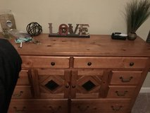 Large Dresser and Mirror in Fort Carson, Colorado