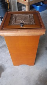 Wooden Trash Can in Naperville, Illinois