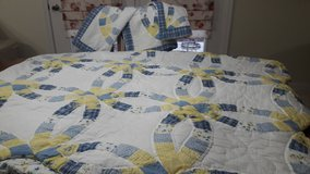 King Size Quilt and shams in Naperville, Illinois