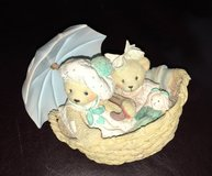 Cherished Teddies Beth &Blossom 1991 Friends Are Never Far Apart in Naperville, Illinois