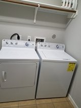 GE washer and dryer only 3 years old. in Conroe, Texas
