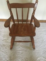 Child's Rocking Chair - Vintage in Naperville, Illinois