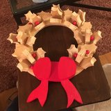 Wooden Wreath in Chicago, Illinois