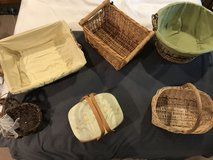 **REDUCED**Set of 7 misc baskets in Morris, Illinois