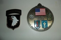 military coins in Fort Campbell, Kentucky