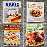 NEW Cookbooks. Set of 4. in Okinawa, Japan