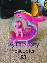 My Little Pony helicopter & pony in Ramstein, Germany