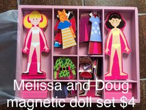 Melissa and Doug magnetic doll set in Ramstein, Germany