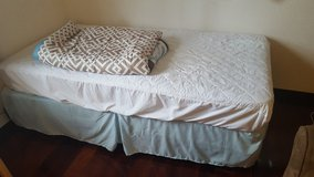Single Mattress, Box Spring, Frame in Okinawa, Japan