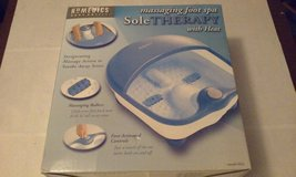 HoMedics Model ST-2 Massaging Foot Spa with Heat.  Unused. in Chicago, Illinois