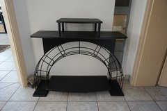 Small black side table in Baumholder, GE