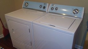 Like New Hardly Used Whirlpool Washer and Dryer Set - Electric in Fort Belvoir, Virginia