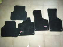 Audi A3 Floor mats- black in Spangdahlem, Germany