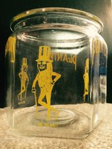 Mr Peanut Glass Counter Display in Yorkville, Illinois