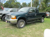 1999 FORD F-350 SUPER DUTY EXT CAB, XLT, 4X4, 7.3 POWER STROKE DIESEL, LOW MILES in bookoo, US
