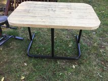 "Choppers block table 44x28"" 28"" tall in Fort Riley, Kansas"