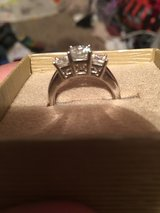 Moissanite Fire Size 8 Ring in Morris, Illinois
