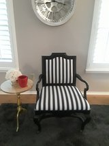 2 Black and white dining Chairs in Kingwood, Texas