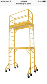 Scaffolding by MetalTech 1000lb capacity in Lockport, Illinois
