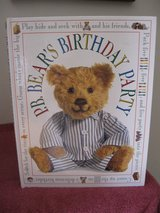 P. B. Bear's Birthday Party (Pajama Bear) Over Sized Hard Cover Book Age 4-6 * Grade Pre-School ... in Joliet, Illinois