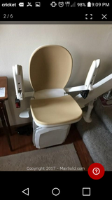 Acorn 180 Curved Stairlift in Kingwood, Texas