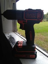 Black and Decker drill just needs charger works great in Fort Polk, Louisiana