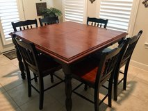 Kitchen dining table set in Kingwood, Texas