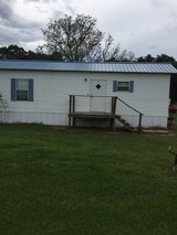 Fully furnished One bedroom one bath fully furnished mobile home in country outside lease for you in DeRidder, Louisiana