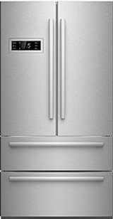 Counter-Depth Stainless French Door Refrigerator in Tacoma, Washington