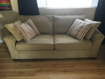 Excellent couch and love seat plus 6 pillows. in Roseville, California