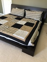 KING SIZE PLATEFORM BED in Lockport, Illinois