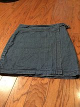 ***Ladies Hollister Denim Wrap Skirt***Sz 0 in Cleveland, Texas