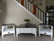 Ethan Allen Solid Maple Coffee Table 2 End Tables in Kingwood, Texas
