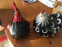 2 chickens looking for a home in Lockport, Illinois