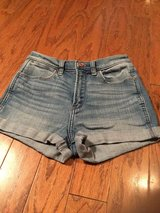 ***Ladies Abercrombie Denim Shorts***Sz 0 in Cleveland, Texas