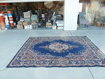 Area Rug- 8' x 12' – Intricate Persian Pattern on a Royal Blue Background in Yucca Valley, California