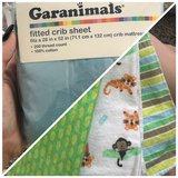 Crib sheet and swaddle blanket in Lawton, Oklahoma