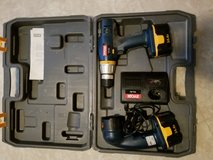 Ryobi Cordless drill and flashlight with case 14.4 volts in Camp Lejeune, North Carolina