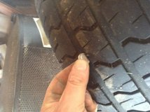 I have two usted tiers  305/50R20 GOOD YEAR in Chicago, Illinois