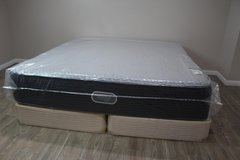NEW! KING BEAUTYREST - SILVER HYBRID - VIVID SHORES LUXURY FIRM in CyFair, Texas